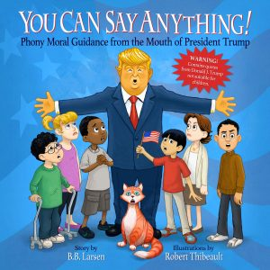 You Can Say Anything book front cover