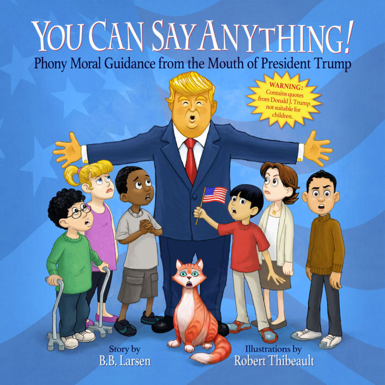 You Can Say Anything book cover